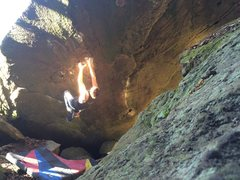 Rock Climbing Photo: 1st day at Sandstone, 1st day completing the Raven...