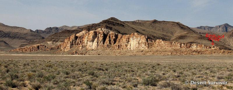 Boyscout Bluff at Ibex