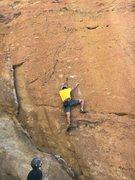 Rock Climbing Photo: Leo, from Bogota, on Bound in Bogota, sporting Col...