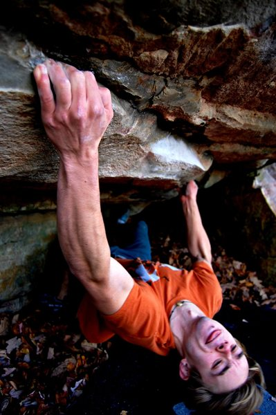 Jon Hamilton Worm World V8 Satellite Boulder.