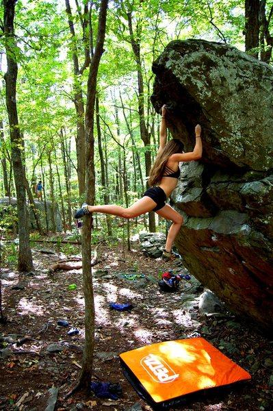 Rock Climbing Photo: Big Boy V5 SDS Emma Walker.