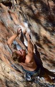 Rock Climbing Photo: Will making casual work of the tiny crimps on the ...