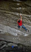 Rock Climbing Photo: Jerry moving fast through the easier climbing on D...