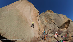 Rock Climbing Photo: What a great day to climb.