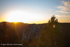 Rock Climbing Photo: Sunrise over the dome.