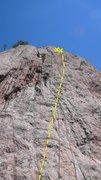 Rock Climbing Photo: Da Vinci's Robot.