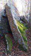 Rock Climbing Photo: Samurai Sword!