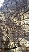 Rock Climbing Photo: Warm up boulder niceness