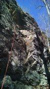 Rock Climbing Photo: Shows the start...again, really fun climb!