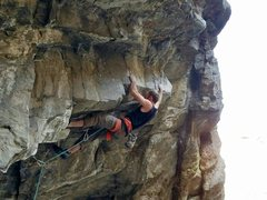 Rock Climbing Photo: Now it's time for the burliness to began.