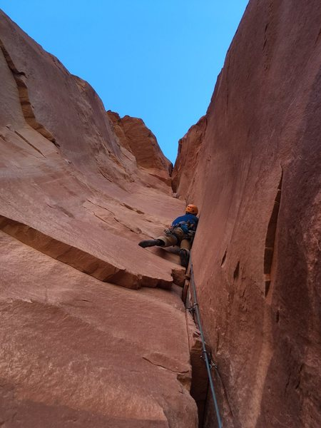 Pitch 2!  Easily 5 out of 4 stars. <br> <br> and not even my favorite pitch of the route. This thing is awesome!