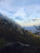 Rock Climbing Photo: OMG on a beautiful November afternoon