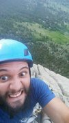 Rock Climbing Photo: Osiris selfie.
