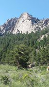 Rock Climbing Photo: The book crag at Lumpy Ridge.