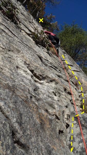 Rock Climbing Photo: Getting some on Impulse Power