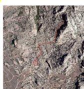 Map of trail to rockaway beach. aprox 20 min hike.