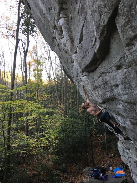 """One For The Gipper"" 5.13c"