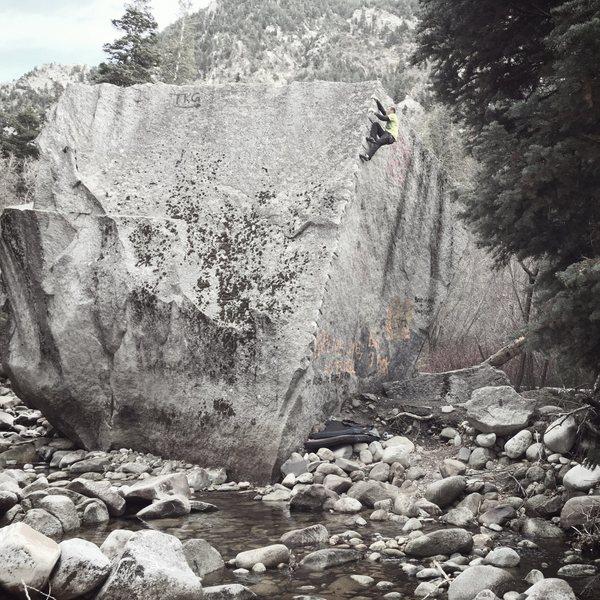 Rock Climbing Photo: Nice aesthetic warmup!