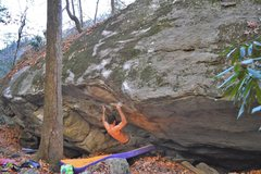 Rock Climbing Photo: Parlier on Marshanti Mantle