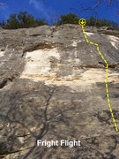 Rock Climbing Photo: Follow the bolts just right or Next Time Send a Ca...