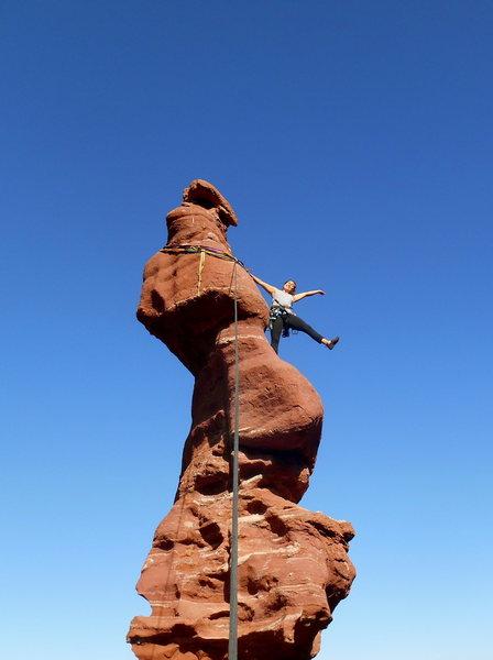 Rock Climbing Photo: moenkopi mud/cutler sandstone: ancient art