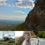 My first day at The Gunks.