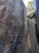 Rock Climbing Photo: An overview of the route