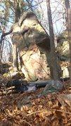Rock Climbing Photo: Nice boulder.  Left arete is Jafar.  Not sure if r...