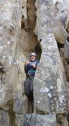 Rock Climbing Photo: Full body jam.