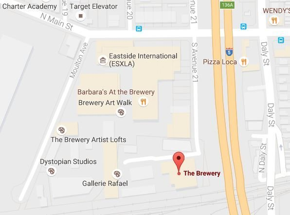 """The Brewery"" is the gym. Moulton Ave is okay for overflow parking"