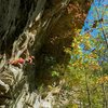 Redpointing Ro Shampo (5.12a)