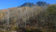 Rock Climbing Photo: Seneca Rocks in late Fall.