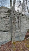 Rock Climbing Photo: Part of the smaller boulder field in between the p...