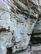 Rock Climbing Photo: What a fantastic climb.  A great opening roof lead...