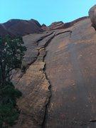 "Rock Climbing Photo: Just bein an ""Idaho Flake"""