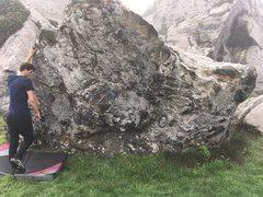 Rock Climbing Photo: Getting ready to traverse