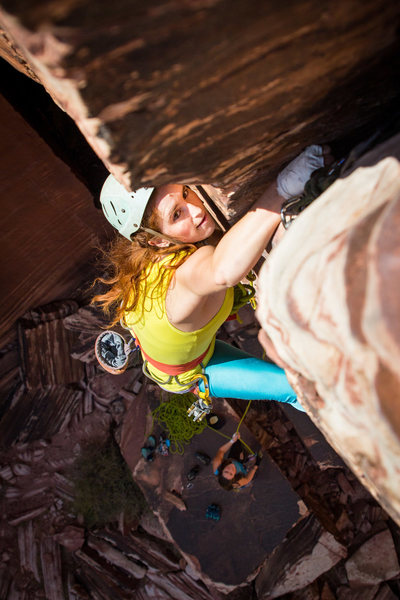 Rock Climbing Photo: Fists section,