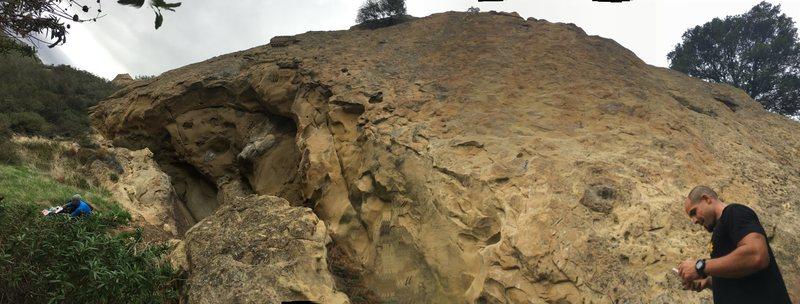 Flintstone Rock set up
