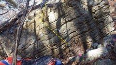 Rock Climbing Photo: Andrew's Problem