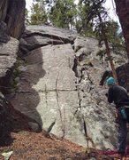 Rock Climbing Photo: TR set up on Host With the Most