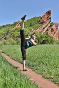 Rock Climbing Photo: Roxborough State Park