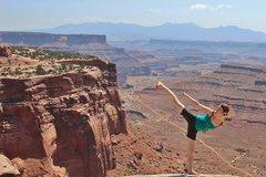Rock Climbing Photo: Canyonlands National Park