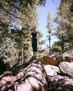 Rock Climbing Photo: Castlewood Canyon State Park