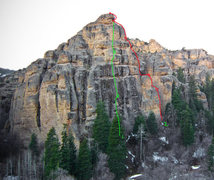 Rock Climbing Photo: Dizzy Rock