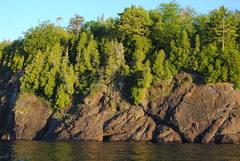Rock Climbing Photo: Presque Isle Marquette