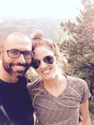 Rock Climbing Photo: Me and Lindsey
