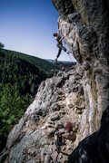 Rock Climbing Photo: Onsight send.