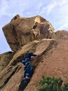Rock Climbing Photo: Starting up