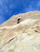 Rock Climbing Photo: Getting my slab on