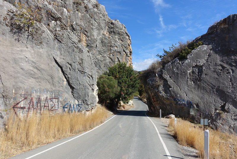 Rock Climbing Photo: The road passes right through this area, you canno...